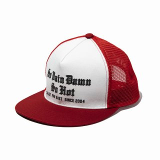 CALEE キャリー Print mesh cap<Red><img class='new_mark_img2' src='https://img.shop-pro.jp/img/new/icons14.gif' style='border:none;display:inline;margin:0px;padding:0px;width:auto;' />