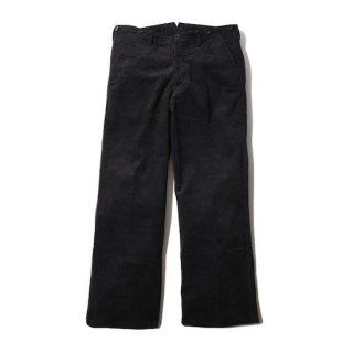 TROPHY CLOTHING トロフィークロージング CORD VITO TROUSERS<BLACK><img class='new_mark_img2' src='https://img.shop-pro.jp/img/new/icons14.gif' style='border:none;display:inline;margin:0px;padding:0px;width:auto;' />