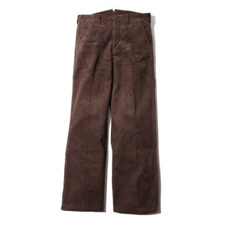 TROPHY CLOTHING トロフィークロージング CORD VITO TROUSERS<BROWN><img class='new_mark_img2' src='https://img.shop-pro.jp/img/new/icons14.gif' style='border:none;display:inline;margin:0px;padding:0px;width:auto;' />