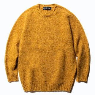 CALEE キャリー ×Ce forsyth Shaggy wool knit <Mustard><img class='new_mark_img2' src='https://img.shop-pro.jp/img/new/icons14.gif' style='border:none;display:inline;margin:0px;padding:0px;width:auto;' />