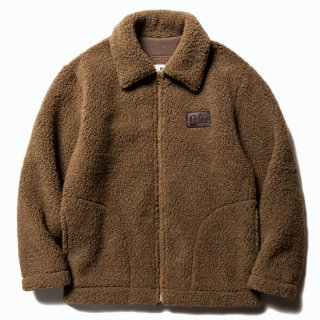 CALEE キャリー ×COLD BREAKER Boa jacket<Brown><img class='new_mark_img2' src='https://img.shop-pro.jp/img/new/icons14.gif' style='border:none;display:inline;margin:0px;padding:0px;width:auto;' />
