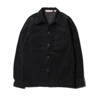 TROPHY CLOTHING トロフィークロージング CORD SKIPPER L/S SHIRT<BLACK><img class='new_mark_img2' src='https://img.shop-pro.jp/img/new/icons14.gif' style='border:none;display:inline;margin:0px;padding:0px;width:auto;' />