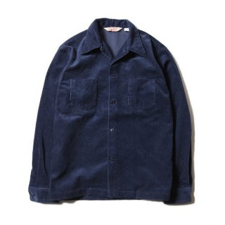 TROPHY CLOTHING トロフィークロージング CORD SKIPPER L/S SHIRT<NAVY><img class='new_mark_img2' src='https://img.shop-pro.jp/img/new/icons14.gif' style='border:none;display:inline;margin:0px;padding:0px;width:auto;' />