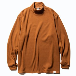 CALEE キャリー High neck L/S stretch thermal<Brown><img class='new_mark_img2' src='https://img.shop-pro.jp/img/new/icons14.gif' style='border:none;display:inline;margin:0px;padding:0px;width:auto;' />