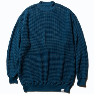 CALEE キャリー Big waffle L/S cutsew<Navy><img class='new_mark_img2' src='https://img.shop-pro.jp/img/new/icons14.gif' style='border:none;display:inline;margin:0px;padding:0px;width:auto;' />