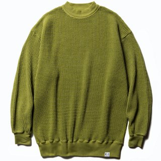 CALEE キャリー Big waffle L/S cutsew<Tea.Green><img class='new_mark_img2' src='https://img.shop-pro.jp/img/new/icons14.gif' style='border:none;display:inline;margin:0px;padding:0px;width:auto;' />