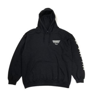 ROUGH AND RUGGED ラフアンドラゲッド HENRY HAUZ LOGO HOODIE<BLACK><img class='new_mark_img2' src='https://img.shop-pro.jp/img/new/icons14.gif' style='border:none;display:inline;margin:0px;padding:0px;width:auto;' />