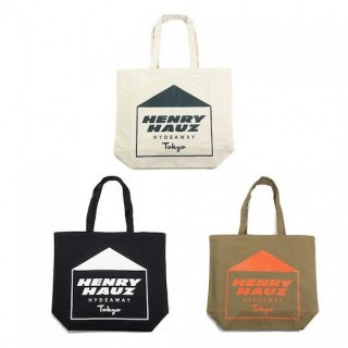 ROUGH AND RUGGED ラフアンドラゲッド HENRY HAUZ LOGO TOTE<img class='new_mark_img2' src='https://img.shop-pro.jp/img/new/icons14.gif' style='border:none;display:inline;margin:0px;padding:0px;width:auto;' />