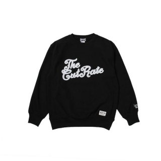 CUTRATE カットレイト 4TH LOGO CREW SWEAT<BLACK><img class='new_mark_img2' src='https://img.shop-pro.jp/img/new/icons14.gif' style='border:none;display:inline;margin:0px;padding:0px;width:auto;' />