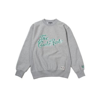 CUTRATE カットレイト 4TH LOGO CREW SWEAT<GRAY><img class='new_mark_img2' src='https://img.shop-pro.jp/img/new/icons14.gif' style='border:none;display:inline;margin:0px;padding:0px;width:auto;' />