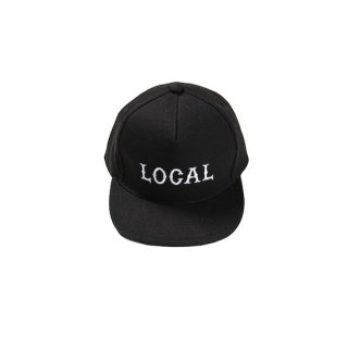 CUTRATE カットレイト LOCAL CAP<BLACK><img class='new_mark_img2' src='https://img.shop-pro.jp/img/new/icons14.gif' style='border:none;display:inline;margin:0px;padding:0px;width:auto;' />