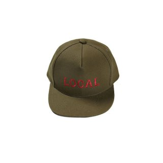 CUTRATE カットレイト LOCAL CAP<OLIVE>