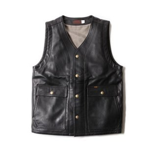 TROPHY CLOTHING トロフィークロージング RANCHER STEERHIDE VEST<img class='new_mark_img2' src='https://img.shop-pro.jp/img/new/icons14.gif' style='border:none;display:inline;margin:0px;padding:0px;width:auto;' />