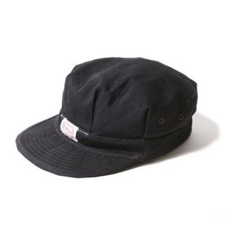 TROPHY CLOTHING トロフィークロージング UNION RAIL ROADER CAP<BLACK><img class='new_mark_img2' src='https://img.shop-pro.jp/img/new/icons14.gif' style='border:none;display:inline;margin:0px;padding:0px;width:auto;' />