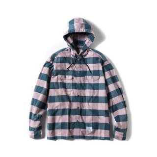 ROUGH AND RUGGED ラフアンドラゲッド WALKEN HOODIE<PINK CK><img class='new_mark_img2' src='https://img.shop-pro.jp/img/new/icons14.gif' style='border:none;display:inline;margin:0px;padding:0px;width:auto;' />