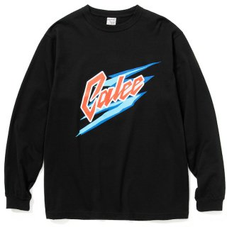CALEE キャリー Logo print L/S t-shirt<Black><img class='new_mark_img2' src='https://img.shop-pro.jp/img/new/icons14.gif' style='border:none;display:inline;margin:0px;padding:0px;width:auto;' />