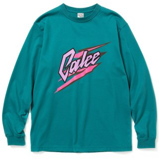 CALEE キャリー Logo print L/S t-shirt<Emerald Green><img class='new_mark_img2' src='https://img.shop-pro.jp/img/new/icons14.gif' style='border:none;display:inline;margin:0px;padding:0px;width:auto;' />