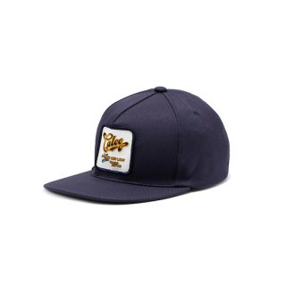 CALEE キャリー ST-P Reproduct Wappen cap<Navy>