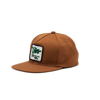 CALEE キャリー ST-P Reproduct Wappen cap<Brown><img class='new_mark_img2' src='https://img.shop-pro.jp/img/new/icons14.gif' style='border:none;display:inline;margin:0px;padding:0px;width:auto;' />