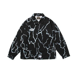 CUTRATE カットレイト THUNDER PATTERN TWILL WORK JKT<BLACK>