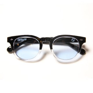 CUTRATE カットレイト WELLINGTON GLASSES<BLKCLEAR/BLUE>