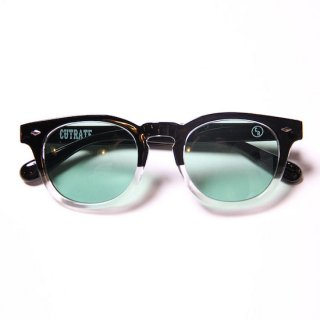 CUTRATE カットレイト WELLINGTON GLASSES<BLKCLEAR/GREEN>