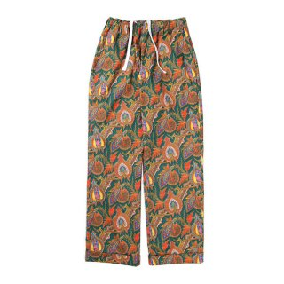 CUTRATE カットレイト MARIA PAISLEY PATTERN EASY PANTS