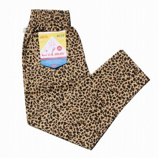 COOKMAN クックマン シェフパンツ Chef Pants Leopard<img class='new_mark_img2' src='https://img.shop-pro.jp/img/new/icons14.gif' style='border:none;display:inline;margin:0px;padding:0px;width:auto;' />