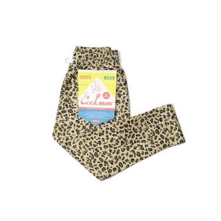 COOKMAN クックマン Kids Size シェフパンツ Chef Pants Leopard<img class='new_mark_img2' src='https://img.shop-pro.jp/img/new/icons14.gif' style='border:none;display:inline;margin:0px;padding:0px;width:auto;' />