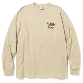 CALEE キャリー Stretch L/S t-shirt<Beige><img class='new_mark_img2' src='https://img.shop-pro.jp/img/new/icons14.gif' style='border:none;display:inline;margin:0px;padding:0px;width:auto;' />