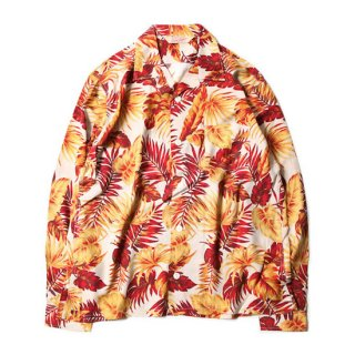TROPHY CLOTHING トロフィークロージング DUKE HAWAIIAN L/S SHIRT<RED><img class='new_mark_img2' src='https://img.shop-pro.jp/img/new/icons14.gif' style='border:none;display:inline;margin:0px;padding:0px;width:auto;' />