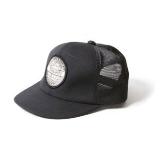 TROPHY CLOTHING トロフィークロージング EARTH LOGO WORK MESH CAP<BLACK>