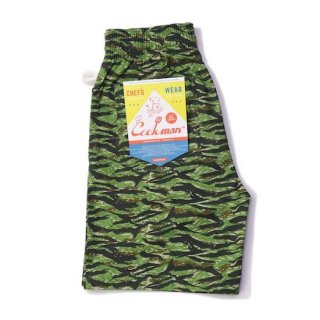 COOKMAN クックマン シェフパンツ Chef Pants Short Ripstop Camo Green <img class='new_mark_img2' src='https://img.shop-pro.jp/img/new/icons14.gif' style='border:none;display:inline;margin:0px;padding:0px;width:auto;' />
