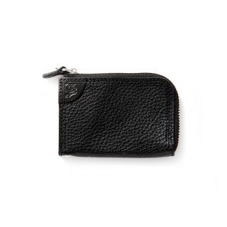CALEE キャリー Logo embossing leather zip multi case<Black><img class='new_mark_img2' src='https://img.shop-pro.jp/img/new/icons14.gif' style='border:none;display:inline;margin:0px;padding:0px;width:auto;' />