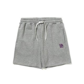 CALEE キャリー Logo print sweat short pants<Gray>