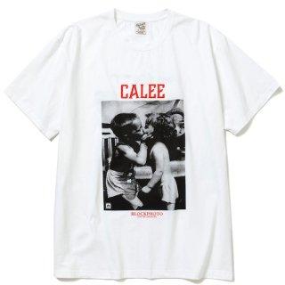 CALEE キャリー ×BPA Thread call t-shirt<White>