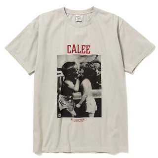 CALEE キャリー ×BPA Thread call t-shirt<Gray><img class='new_mark_img2' src='https://img.shop-pro.jp/img/new/icons14.gif' style='border:none;display:inline;margin:0px;padding:0px;width:auto;' />