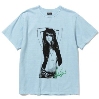 CALEE キャリー ×BPA Cal girl t-shirt<Blue><img class='new_mark_img2' src='https://img.shop-pro.jp/img/new/icons14.gif' style='border:none;display:inline;margin:0px;padding:0px;width:auto;' />