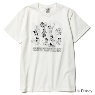 CALEE キャリー ×DISNEY/Multi player t-shirt<White><img class='new_mark_img2' src='https://img.shop-pro.jp/img/new/icons14.gif' style='border:none;display:inline;margin:0px;padding:0px;width:auto;' />