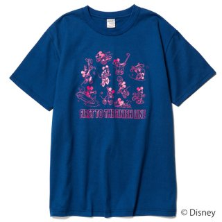 CALEE キャリー ×DISNEY/Multi player t-shirt<Blue><img class='new_mark_img2' src='https://img.shop-pro.jp/img/new/icons14.gif' style='border:none;display:inline;margin:0px;padding:0px;width:auto;' />