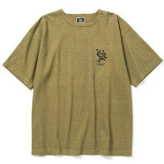 CALEE キャリー Boat neck drop shoulder t-shirt<Olive><img class='new_mark_img2' src='https://img.shop-pro.jp/img/new/icons14.gif' style='border:none;display:inline;margin:0px;padding:0px;width:auto;' />