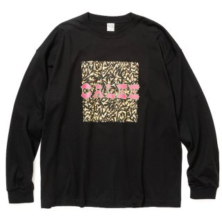 CALEE キャリー Up cycle calee logo drop shoulder L/S t-shirt<Black><img class='new_mark_img2' src='https://img.shop-pro.jp/img/new/icons14.gif' style='border:none;display:inline;margin:0px;padding:0px;width:auto;' />