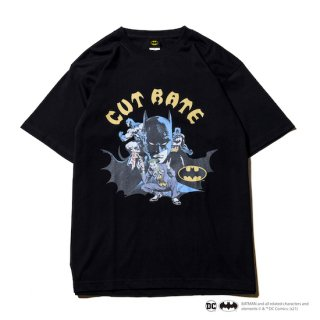 CUTRATE カットレイト 「BATMAN & JOKER」 CR T-SHIRT<BLACK><img class='new_mark_img2' src='https://img.shop-pro.jp/img/new/icons14.gif' style='border:none;display:inline;margin:0px;padding:0px;width:auto;' />
