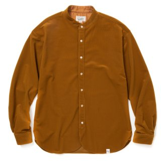 CALEE キャリー Tricot knit 4way stretch band collar L/S shirt<Camel><img class='new_mark_img2' src='https://img.shop-pro.jp/img/new/icons14.gif' style='border:none;display:inline;margin:0px;padding:0px;width:auto;' />