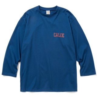 CALEE キャリー 8 Length sleeve thunderbolt set in t-shirt<Blue><img class='new_mark_img2' src='https://img.shop-pro.jp/img/new/icons14.gif' style='border:none;display:inline;margin:0px;padding:0px;width:auto;' />
