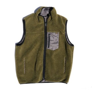 TROPHY CLOTHING トロフィークロージング 2FACE MOUNTAIN VEST<OLIVE×CHARCOAL><img class='new_mark_img2' src='https://img.shop-pro.jp/img/new/icons14.gif' style='border:none;display:inline;margin:0px;padding:0px;width:auto;' />
