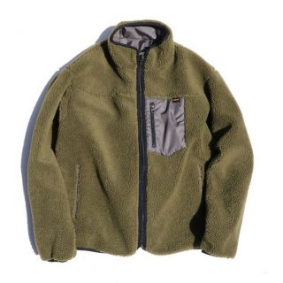 TROPHY CLOTHING トロフィークロージング 2 FACE MOUNTAIN JACKET<OLIVE×CHARCOAL><img class='new_mark_img2' src='https://img.shop-pro.jp/img/new/icons14.gif' style='border:none;display:inline;margin:0px;padding:0px;width:auto;' />