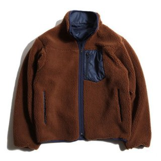 TROPHY CLOTHING トロフィークロージング 2 FACE MOUNTAIN JACKET<BROWN×NAVY><img class='new_mark_img2' src='https://img.shop-pro.jp/img/new/icons14.gif' style='border:none;display:inline;margin:0px;padding:0px;width:auto;' />