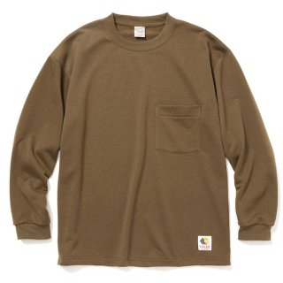 CALEE キャリー Aeroknot drop shoulder L/S t-shirt<Olive><img class='new_mark_img2' src='https://img.shop-pro.jp/img/new/icons14.gif' style='border:none;display:inline;margin:0px;padding:0px;width:auto;' />