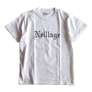 NEILLAGE WORKS ニーレイジ ワークス OG OLD ENGLISH TEE<WHITE>